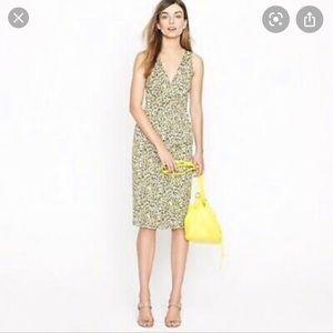 Jcrew Fabiola leopard dress